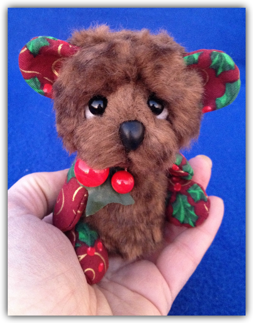 Buddy - Christmas Pixie Bear - artist bear