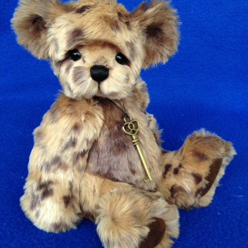 Jasper - Faux Fur Artist Teddy Bear by Teddies by Laura Lynn