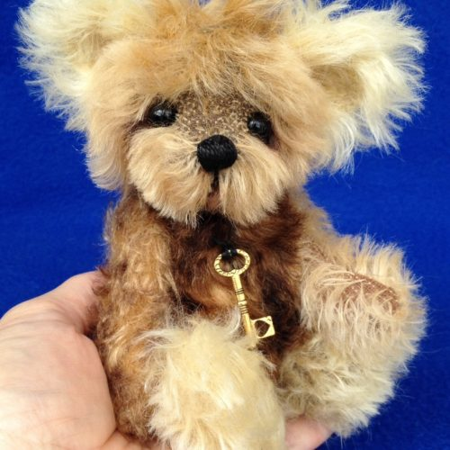 Patch - Mohair Artist Teddy Bear by Teddies by Laura Lynn