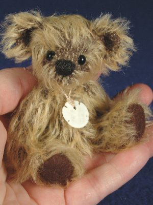 "Rocko - 4"" Miniature Teddy Bear Pattern"