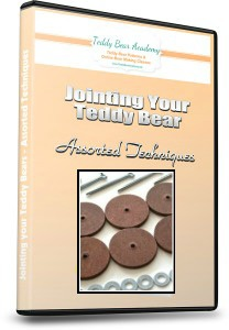 How to insert joints in teddy bears