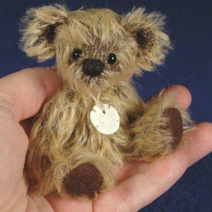 """Rocko - 4"""" Miniature Teddy Bear Pattern"""