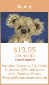 Online Teddy Bear Workshop Classes
