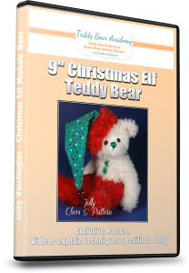 How to make a Christmas elf teddy bear online class