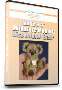 How to make a miniature teddy bear online course