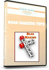 Bear making tips and tricks