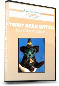 Make Esmeralda a teddy bear witch