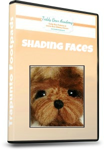 How to shade bear faces