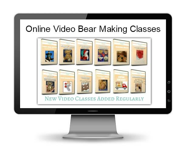 Online Bear Making classes