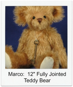 "Marco 12"" Fully Jointed Bear Class"