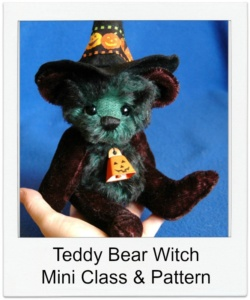 Teddy Bear Witch Class