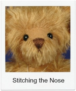 How to Stitch a Nose on a Teddy Bear